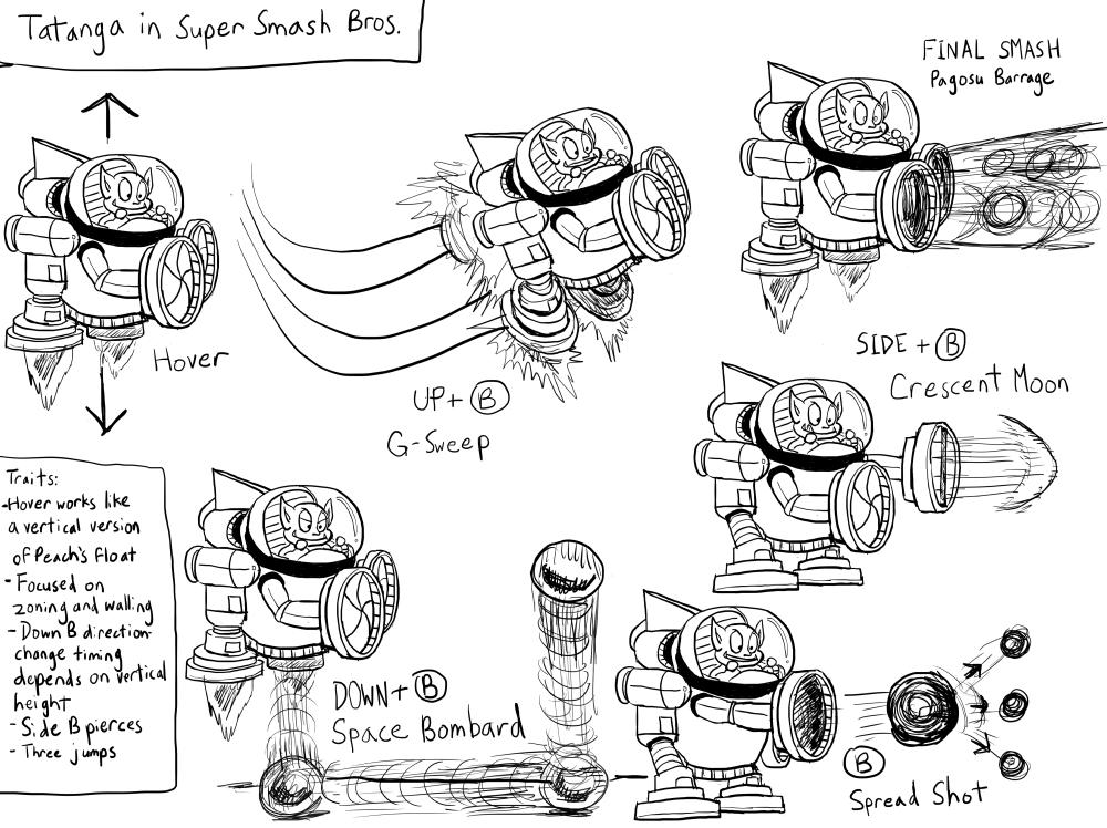 Tatanga Super Mario Land For Super Smash Bros Ogiue